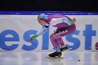 SCHAATSEN: HEERENVEEN: 29-11-2014, IJsstadion Thialf, KNSB trainingswedstrijd, Lennart Velema, ©foto Martin de Jong