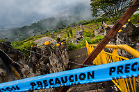 "An unmaintained heliport belonging to the prison ""La Catedral"", where the drug lord Pablo Escobar was self-imprisoned, is seen on the hills above Medellín, Colombia, 9 December 2017. Twenty five years after Pablo Escobar's death, the legacy of the Medellín Cartel leader is alive and flourishing. Although many Colombians who lived through the decades of drug wars, assassinations, kidnappings, reject Pablo Escobar's cult and his celebrity status, there is a significant number of Colombians who admire him, worshipping the questionable ""Robin Hood"" image he had. Moreover, in the recent years, the popular ""Narcos"" TV series has inspired thousands of tourists to visit Medellín, creating a booming business for many but causing a controversial rise of narco-tourism."
