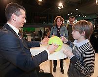 11-02-11Tennis, Rotterdam, ABNAMROWTT, Handtek. sessie Richard Krajicek