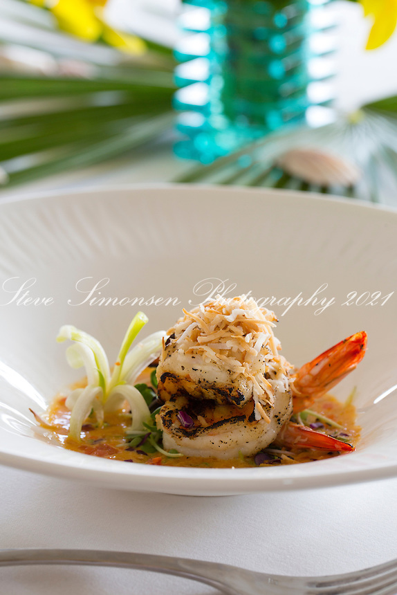 Coconut shrimp appetizer<br />