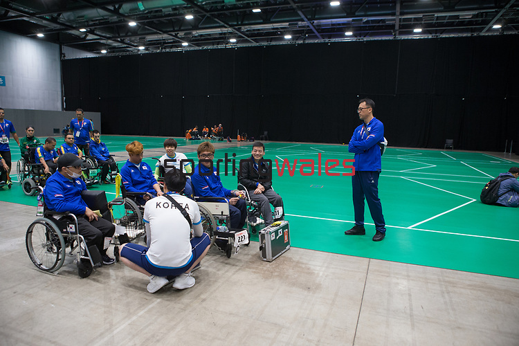 BISFed 2018 World Boccia Championships <br /> Exhibition Centre Liverpool<br /> 17.08.18<br /> ©Steve Pope<br /> Sportingwales
