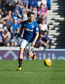 9th September 2017, Ibrox Park, Glasgow, Scotland; Scottish Premier League football, Rangers versus Dundee; Rangers' Ryan Jack