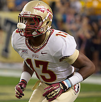 Florida State defensive back Jalen Ramsey. Florida State defeated Pitt 41-13 at Heinz Field on September 2, 2013.