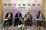 """Palestinian Prime Minister, Rami Hamdallah, attends the opening of the """"African training program"""" at the National School of Administration, in the West Bank city of Ramallah, on August 12, 2018. Photo by Prime Minister Office"""