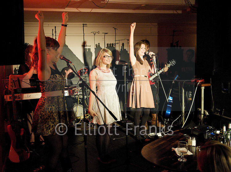 THE DISTRACTION CLUB<br /> at The Phoenix, Cavendish Square, London, Great Britain <br /> 6th September 2011 <br /> <br /> MITCH BENN &amp; THE DISTRACTIONS<br /> (Ivan Sheppard &amp; Kirsty Newton)<br /> The Segue Sisters<br /> <br /> <br /> THE DISTRACTION CLUB is certain to become one of the most exciting and talked-about nights out in London.<br /> <br /> MITCH BENN (&quot;the country's leading musical satirist&quot;- The Times) and his band THE DISTRACTIONS (Kirsty Newton and Ivan Sheppard) are proud to host, on the first Tuesday of every month, THE DISTRACTION CLUB, a new regular evening of music and comedy in the heart of London's West End.<br /> <br /> The Distraction Club will feature regular guest performers, appearances by both new and established musical comedy acts, and special performances by well-known comedians displaying hitherto unsuspected musical skills and respected musicians exploring their own funny side...<br /> <br /> MITCH BENN &amp; THE DISTRACTIONS<br /> MITCH BENN is acknowledged as one of the best writer/performers of comic songs in Britain; as well as a mainstay of the comedy circuit he has been the resident songsmith on BBC Radio 4&amp;#8242;s THE NOW SHOW for over a decade. He has also contributed songs to Bremner, Bird &amp; Fortune on Channel 4 and Watchdog on BBC1.