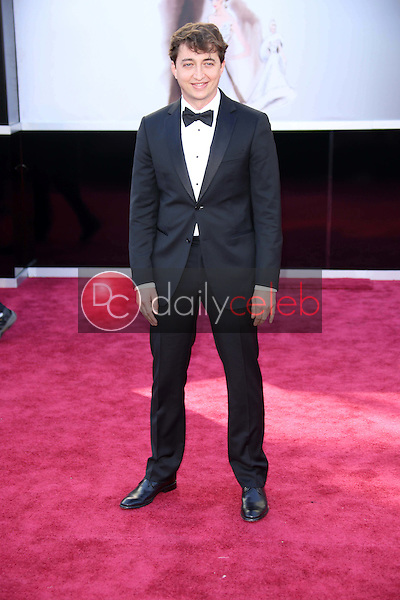 Benh Zeitlin<br /> at the 85th Annual Academy Awards Arrivals, Dolby Theater, Hollywood, CA 02-24-13<br /> David Edwards/DailyCeleb.com 818-249-4998