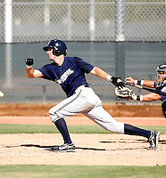 Michael Roberts / Milwaukee Brewers 2008 Instructional League..Photo by:  Bill Mitchell/Four Seam Images