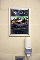 A general view of advertising around the stadium. The Clash, Aviva Premiership match, between Bath Rugby and Leicester Tigers on April 7, 2018 at Twickenham Stadium in London, England. Photo by: Patrick Khachfe / Onside Images