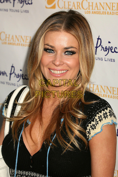 "CARMEN ELECTRA.The Trevor Project's Cracked Xmas 9 ""Mistletoe, Mischief & Myrrh!"" at the Wiltern LG, Los Angeles, California, USA, 03 December 2006..portrait headshot.CAP/ADM/BP.©Byron Purvis/AdMedia/Capital Pictures."