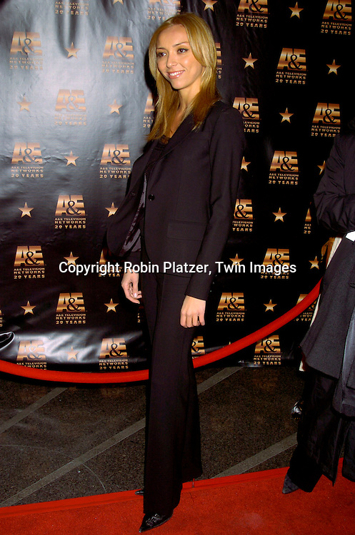 Guiliana DiPandi ..at A & E Television Networks 20th Anniversary Celebration on January 27, 2004 at the Mandarin Oriental Hotel . ..Photo by Robin Platzer, Twin Images