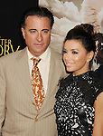 BEVERLY HILLS, CA - MAY 31: Andy Garcia and Eva Longoria attend the Los Angeles premiere of ARC Entertainment's 'For Greater Glory' at the AMPAS Samuel Goldwyn Theater on May 31, 2012 in Beverly Hills, California.