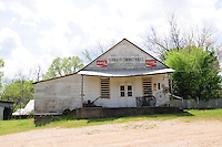 "Ole Country Store Lorman MS. ""King Fryer"" aka Mr. D. and Harris Carmichael store outsideof Crystal Springs Sunday drive March 18,,2012. © Suzi Altman."