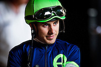 July 20, 2014: Jockey, Joe Talamo at Del Mar Race Track in Del Mar CA. Alex Evers/ESW/CSM