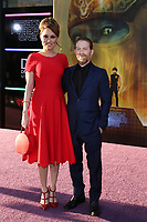 """LOS ANGELES - MAR 26:  Clare Grant, Seth Green at the """"Ready Player One"""" Premiere at TCL Chinese Theater IMAX on March 26, 2018 in Los Angeles, CA"""