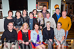 Catching up at the Three Lakes hotel staff reunion in the Porterhouse on Saturday night were front Row l-r: Ed FitzMartin, Ita Looney, Catherine Ring, Mairead Murphy, Mary O'Brien.  Back Row: Ann Cronin, Margaret Culloty, Marie Culloty, Sophie O'Donoghue, Marie Collins, Marie Myers, Hugh O'Donoghue, Martin O'Donoghue, Jack Leen and Donal Cronin.