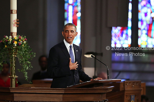 "United States President Barack Obama speaks at an interfaith prayer service for victims of the Boston Marathon attack titled ""Healing Our City,"" at the Cathedral of the Holy Cross on April 18, 2013 in Boston, Massachusetts. Authorities investigating the attack on the Boston Marathon have shifted their focus to locating the person who placed a black bag down and walked away just before the bombs went off. The twin bombings at the 116-year-old Boston race, which occurred near the marathon finish line, resulted in the deaths of three people and more than 170 others injured..Credit: Spencer Platt / Pool via CNP"