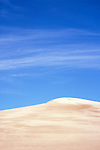 Sand dune and clouds, Great Sand Dunes National Monument, Colorado