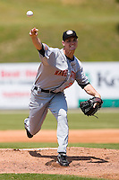 Starting pitcher Colton Willems (28) of the Hagerstown Suns in action versus the Kannapolis Intimidators at Fieldcrest Cannon Stadium in Kannapolis, NC, Monday May 26, 2008.
