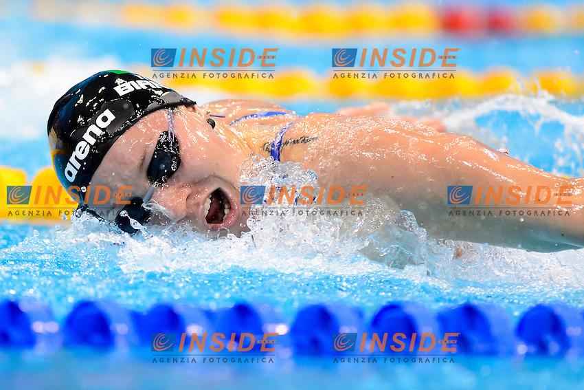 Ilaria BIANCHI ITA Bronze medal <br /> 100m Butterfly Women Final<br /> London, Queen Elizabeth II Olympic Park Pool <br /> LEN 2016 European Aquatics Elite Championships <br /> Swimming<br /> Day 12 20-05-2016<br /> Photo Andrea Staccioli/Deepbluemedia/Insidefoto