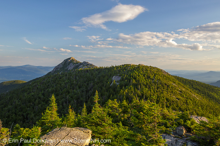 Mount Chocorua from Middle Sister Mountain in Albany, New Hampshire USA during the summer months.