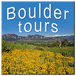 Boulder Colorado tours.