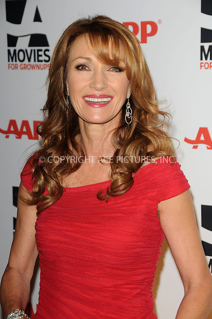 WWW.ACEPIXS.COM . . . . . ....February 7 2011, LA....Actress Jane Seymour arriving at the AARP Magazine 10th Annual Movies For Grownups Awards at the Beverly Wilshire Four Seasons Hotel on February 7, 2011 in Beverly Hills, CA....Please byline: PETER WEST - ACEPIXS.COM....Ace Pictures, Inc:  ..(212) 243-8787 or (646) 679 0430..e-mail: picturedesk@acepixs.com..web: http://www.acepixs.com