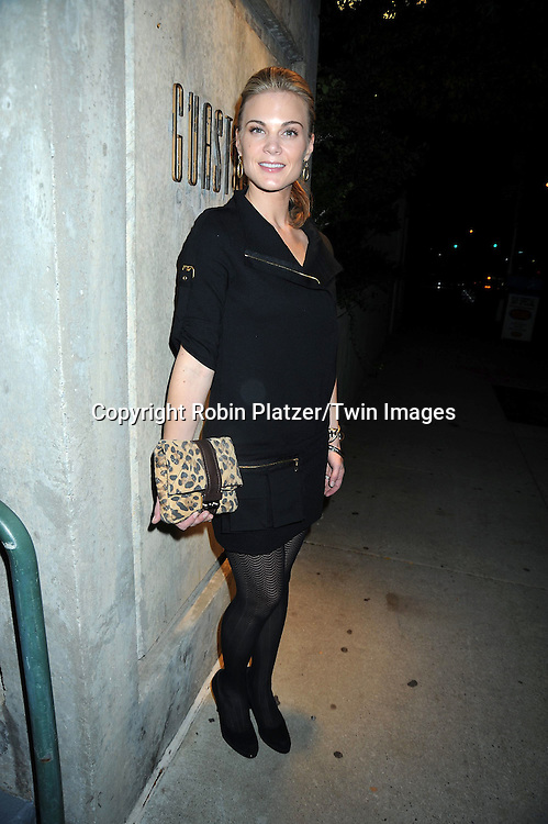 Gina Tognoni attending ABC Casino Night on October 28, 2010 at Guastavinos in New York City. .