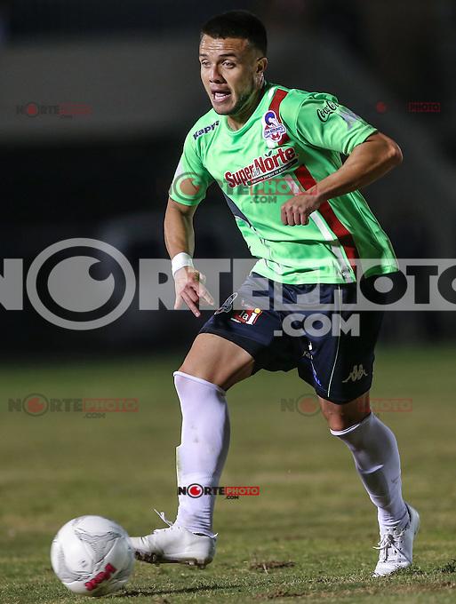 Abraham Stringel de Cimarrones, durante el partido de futbol soccer entre Alebrijes de Oaxaca vs Cimarrones . Jornada 1 del torneo Clausura de la Liga Ascenso MX . <br /> Estadio Heroes de Nacozari  a 8 de enero 2016. **Foto: NortePhoto<br /> ***CreditoObligatorio*