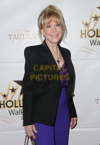 25 October 2016 - Hollywood, California. Barbara Eden. Hollywood Walk Of Fame Honors held at Taglyan Complex. <br /> CAP/ADM/BT<br /> &copy;BT/ADM/Capital Pictures