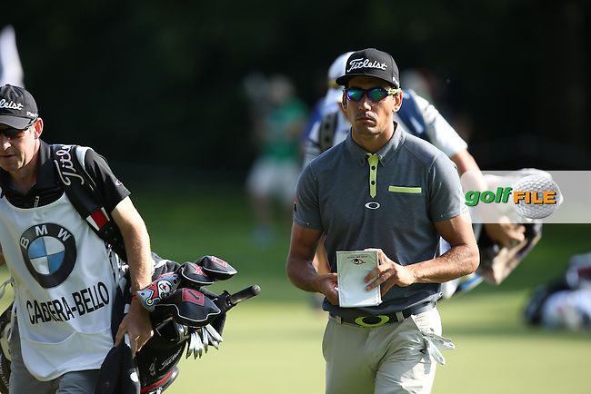 Meaningful swagger from Rafa Cabrera-Bello (ESP) during Round Two of the 2015 BMW International Open at Golfclub Munchen Eichenried, Eichenried, Munich, Germany. 26/06/2015. Picture David Lloyd | www.golffile.ie