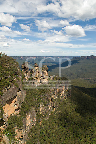 Blue Mountains, Australia. The Three Sisters, Katoomba.