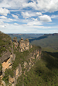 Blue Mountains, Australia. The Three Sisters, Katoomba.