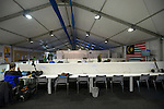 The Hague, Netherlands, June 05: Press centre on June 5, 2014 during the World Cup 2014 at Kyocera Stadium in The Hague, Netherlands. (Photo by Dirk Markgraf / www.265-images.com) *** Local caption ***