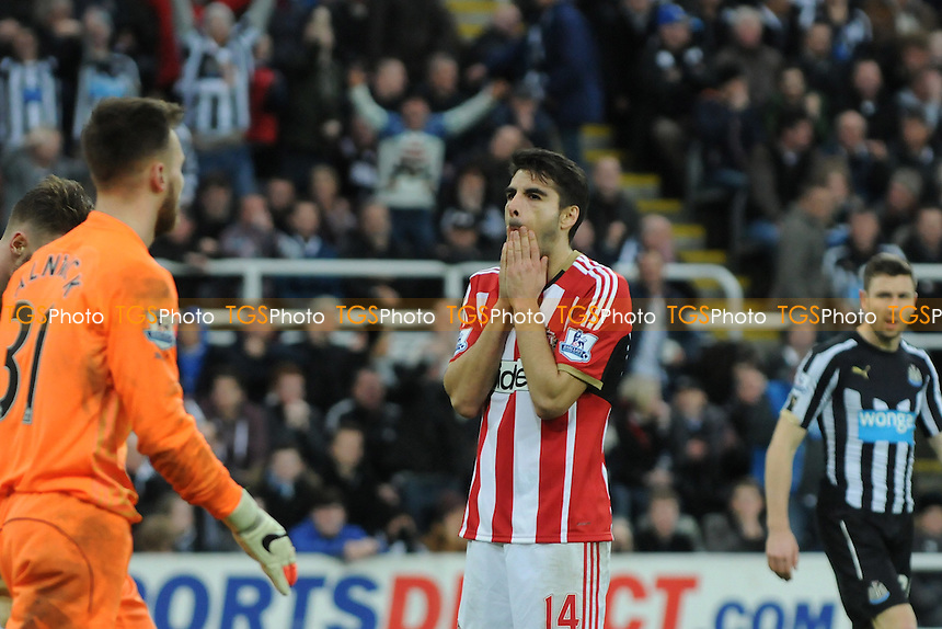 A frustrated Jordi Gómez of Sunderland - Newcastle United vs Sunderland AFC - Barclays Premier A frustrated `a14League Football at St James Park, Newcastle upon Tyne - 21/12/14 - MANDATORY CREDIT: Steven White/TGSPHOTO - Self billing applies where appropriate - contact@tgsphoto.co.uk - NO UNPAID USE