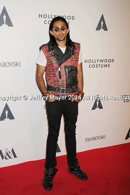 LOS ANGELES, CA- OCTOBER 01: Producer Adi Shankar attends The Academy of Motion Picture Arts and Sciences' Hollywood Costume Opening Party at the Wilshire May Company Building on October 1, 2014 in Los Angeles, California.