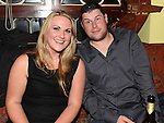 Sarah McCabe and Robbie Coyle pictured at the Ardee Celtic awards night in Butterly's Bar. Photo:Colin Bell/pressphotos.ie