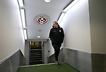 Alan Knill assistant manager during the English League One match at Bramall Lane Stadium, Sheffield. Picture date: November 29th, 2016. Pic Simon Bellis/Sportimage