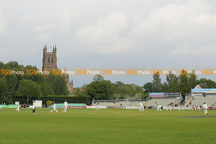 General view of play - Worcestershire CCC vs Essex CCC - LV County Championship Division Two Cricket at New Road, Worcester - 30/05/13 - MANDATORY CREDIT: Gavin Ellis/TGSPHOTO - Self billing applies where appropriate - 0845 094 6026 - contact@tgsphoto.co.uk - NO UNPAID USE