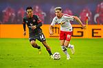 07.10.2018, Red Bull Arena, Leipzig, GER, 1. FBL 2018/2019, RB Leipzig vs. 1. FC N&uuml;rnberg/Nuernberg,<br /> <br /> DFL REGULATIONS PROHIBIT ANY USE OF PHOTOGRAPHS AS IMAGE SEQUENCES AND/OR QUASI-VIDEO.<br /> <br /> im Bild<br /> <br /> <br /> Kevin Kampl (#44, RB Leipzig), <br /> <br /> Foto &copy; nordphoto / Dostmann