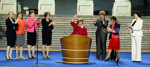 "United States Senator Barbara Mikulski (Democrat of Maryland) participates in a ""Women of the United States Senate"" event at the 2012 Democratic National Convention in Charlotte, North Carolina on Wednesday, September 5, 2012.  .Credit: Ron Sachs / CNP.(RESTRICTION: NO New York or New Jersey Newspapers or newspapers within a 75 mile radius of New York City)"