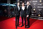 Miki Esparbe, Alex Maruny and Jorge Suquet during the Blood Red Carpet at Festival de Cine Fantastico de Sitges in Barcelona. October 12, Spain. 2016. (ALTERPHOTOS/BorjaB.Hojas)