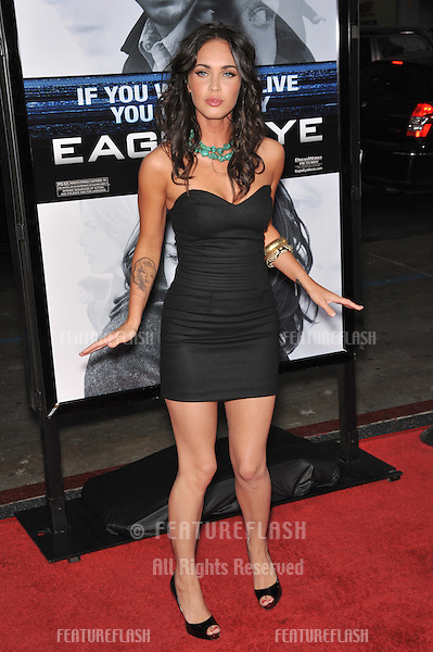 "Megan Fox at the Los Angeles premiere of ""Eagle Eye"" at Grauman's Chinese Theatre, Hollywood..September 16, 2008  Los Angeles, CA.Picture: Paul Smith / Featureflash"