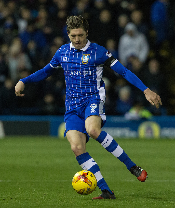 Sheffield Wednesday's Adam Reach in action<br /> <br /> Photographer Alex Dodd/CameraSport<br /> <br /> The EFL Sky Bet Championship - Sheffield Wednesday v Preston North End - Saturday 3rd December 2016 - Hillsborough - Sheffield<br /> <br /> World Copyright &copy; 2016 CameraSport. All rights reserved. 43 Linden Ave. Countesthorpe. Leicester. England. LE8 5PG - Tel: +44 (0) 116 277 4147 - admin@camerasport.com - www.camerasport.com