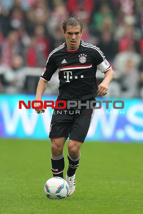 05.05.2012, Rhein Energie Stadion, Koeln, GER, 1.FBL, 1. FC Koeln vs FC Bayern Muenchen, im Bild<br /> Philipp Lahm (Muenchen #21)<br /> <br /> // during the 1.FBL, 1. FC Koeln vs FC Bayern Muenchen on 2012/05/05, Rhein-Energie Stadion, K&ouml;ln, Germany. Foto &copy; nph / Mueller *** Local Caption ***