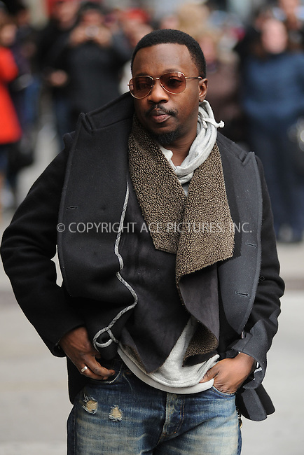 WWW.ACEPIXS.COM . . . . . December 19, 2011...New York City...Anthony Hamilton tapes an appearance on  the Late Show with David Letterman on December 19, 2011 in New York City....Please byline: KRISTIN CALLAHAN - ACEPIXS.COM.. . . . . . ..Ace Pictures, Inc: ..tel: (212) 243 8787 or (646) 769 0430..e-mail: info@acepixs.com..web: http://www.acepixs.com .