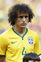 David Luiz (BRA), JULY 4, 2014 - Football / Soccer : FIFA World Cup Brazil 2014 Quarter Final match between Brazil 2-1 Colombia at the Castelao arena in Fortaleza, Brazil. <br /> (Photo by AFLO)