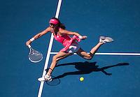AGNIESZKA RADWANSKA (POL)<br /> <br /> TENNIS - GRAND SLAM ITF / ATP  / WTA - Australian Open -  Melbourne Park - Melbourne - Victoria - Australia  - 26 January 2016<br /> <br /> &copy; AMN IMAGES