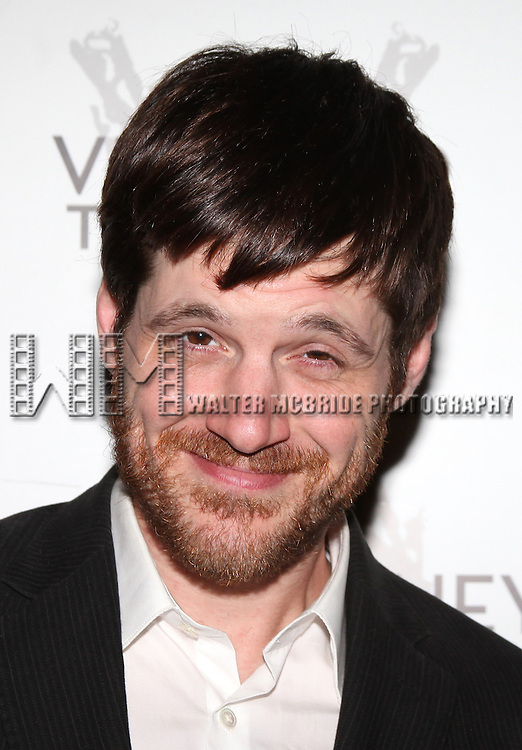 Michael Esper.attending the Opening Night Performance Reception for Nicky Silver's 'The Lyons' at the Vineyard Theatre in New York City.