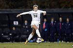 WINSTON-SALEM, NC - NOVEMBER 10: Wake Forest's Hannah Betfort. The Wake Forest University Demon Deacons hosted the Georgetown University Hoyas on November 10, 2017 at W. Dennie Spry Soccer Stadium in Winston-Salem, NC in an NCAA Division I Women's Soccer Tournament First Round game. Wake Forest advanced 2-1 on penalty kicks after the game ended in a 0-0 tie after overtime.