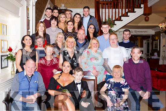 Patricia Looney Gortroe Fossa celebrated her 30th birthday with her family and friends in the International Hotel on Saturday night